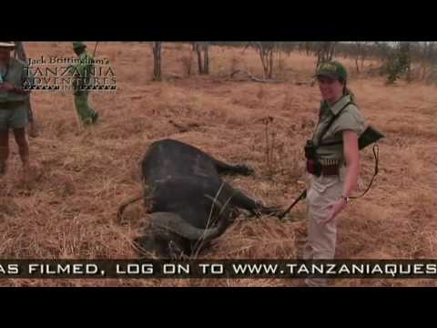 lovecké video TANZANIE
