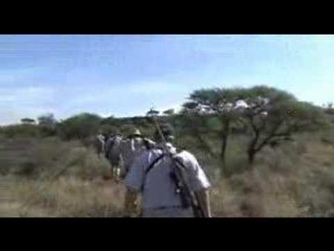 lovecké video AFRIKA