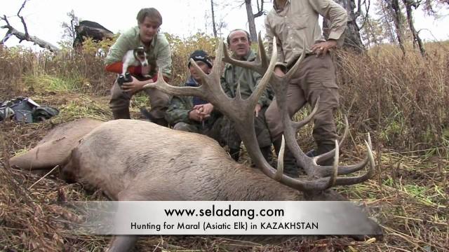 jak se loví v KAZACHSTÁNU
