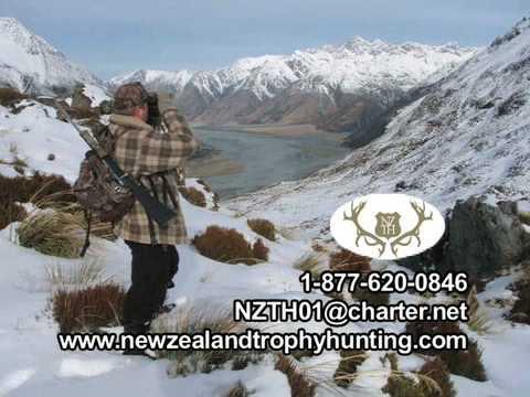 Lov Nový Zéland