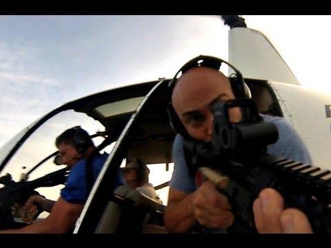 lov z Helikoptéry