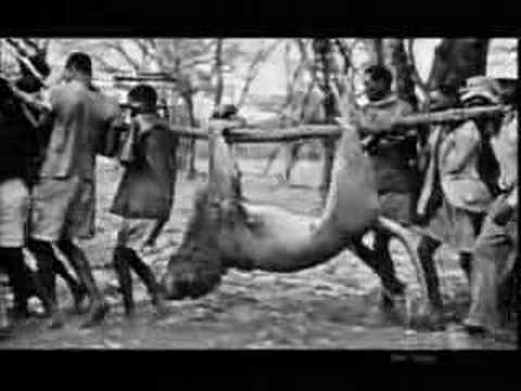 Historický lov v Africe
