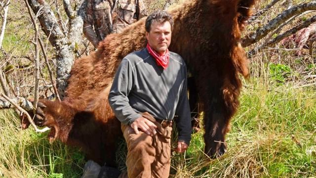 Lov medvěda na Aljašce